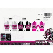 ROSE *** gants Monster High - Taille unique *** NEUF l'unité ***
