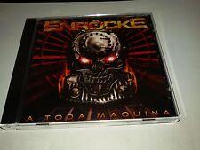 ENROCKE- A TODA MAQUINA spanish heavy metal CD-ZENOBIA-SARATOGA-BARON ROJO