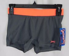 "NEW Intensity 2 1/2"" Volley Ball Shorts Gray & Orange Size XS (S1-93)"