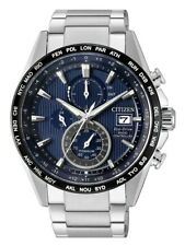 Citizen Eco-Drive Men's Global Collection Blue Dial 43mm Watch AT8154-58L