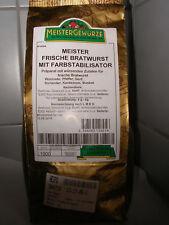 Meister Bratwurst Gewürz - 100g, Würznote: Pfeffer,Senf, Koriad. Kardam. Muskat