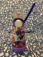 New  Disney Princess Snowglobe Tumbler with Straw