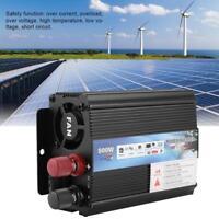 12V a 220V/500W Convertidor Inversor de Potencia con Solar Panel para Doméstico