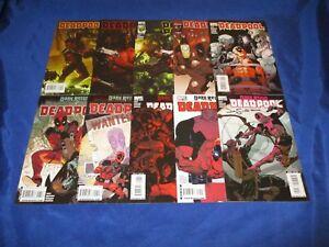 Deadpool (2008) #1-25 1st Prts #10 11 12 Signed Jason Pearson #13 Frame Var NM-