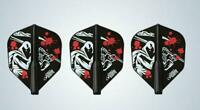 COSMO DARTS FIT FLIGHT (SET OF 3) SHAPE ADAM STELLA - DARK BLACK