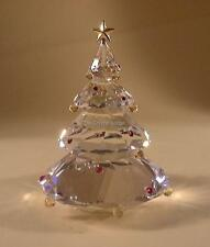 SWAROVSKI CRYSTAL CHRISTMAS TREE 266945 MINT BOXED RETIRED RARE