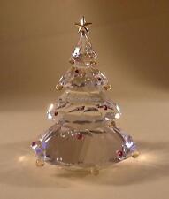 Swarovski crystal arbre de noël 266945 mint boxed retraité rare