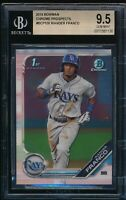 BGS 9.5 WANDER FRANCO 1st 2019 Bowman Chrome Prospects Rookie Card RC GEM MINT