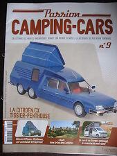 FASCICULE   9  PASSION CAMPING-CARS   CITROEN CX TISSIER-PENTHOUSE