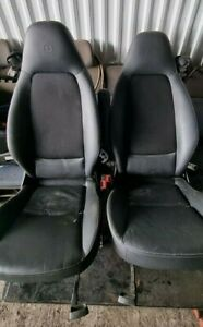 SMART FORTWO BRABUS DRIVER + PASSENGER FRONT SEATS LEATHER / 2010-2014