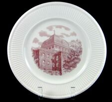 Wedgwood Trinity College, Washington Dc, The Red Roof Plate