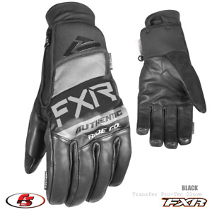 New 2021 FXR Transfer Pro-Tec Snowmobile Motorcycle Glove Black M L XL, 2XL, 3XL