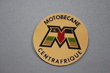 NZ Ancien autocollant MOTOBECANE concessionnaire cycle moto vélo Centrafrique