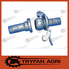 SLURRY TANKER BAUER STYLE LEVER LOCK COUPLING COMPLETE SET 4 INCH