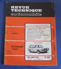 Revue technique RTA 337 volkswagen passat