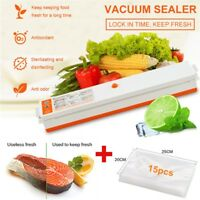 Household Food Vacuum Sealer Package Machine Electric Film Sealer Vacuum Packer