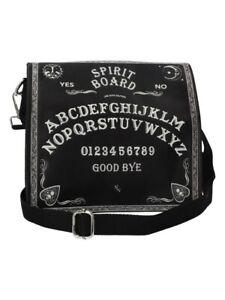 Nemesis Shoulder Bag Spirit Board Embossed Black 27x27cm