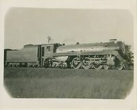 1960s Canadian Pacific Railway Steam Locomotive Photo 2857 4-6-4 Canada Railroad
