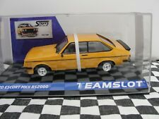 TEAM SLOT FORD ESCORT MKII RS2000 0RANGE  SRE27  1:32 SLOT BNIB LATEST LE 200