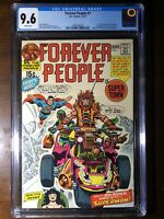 Forever People #1 (1971) - 1st Darkseid! - CGC 9.6 - White Pages! - Key!