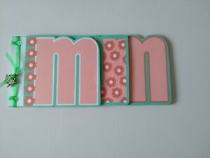 Mini Album / word book/ card, Mum, Mother's Day, card making, gift, crafts