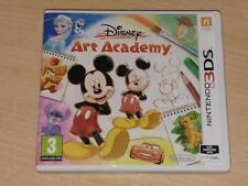 Disney Art Academy Nintendo 3DS UK PAL