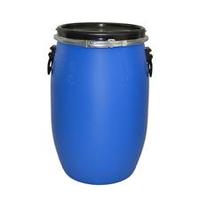 More details for 60 litre open top blue plastic keg/ drum/ barrel food grade un approved hdpe