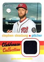 2020 TOPPS HERITAGE - CLUBHOUSE COLLECTION - JERSEY RELIC - STEPHEN STRASBURG