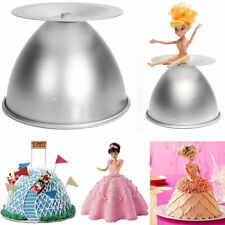 Cake Mold Baking Pan Tin Kit For Doll Princess Dress Fondant Sugarcraft Decor