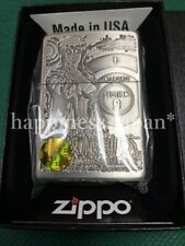 Zippo Oil Lighter GHOST IN THE SHELL Motoko Kusanagi Gray Anime Japan F/S
