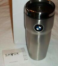 Savor BMW Motors Vehicle Stainless Steel RRG Travel Mug Automotive - New ~ T7