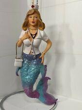 December Diamonds Nurse Nettle merman mermaid ornament retired no box as is