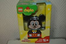BOITE LEGO DUPLO MY FIRST  MICKEY BUILD   NEUF DISNEY JUNIOR