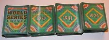 1991 Score World Series Trivia 66 Cards