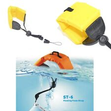 Floating Foam Wrist Arm Strap for Waterproof DC Camera Afloat Pentax Sony Yellow