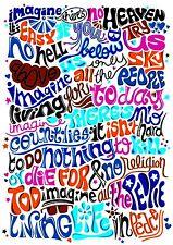 Imagine Letras inspiradores / Motivacional citar Cartel / impresión / Imagen (1)