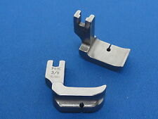 """Industrial Sewing Machine Piping Foot Left Side 3/8"""" Fits, Brother, Juki, Jack"""