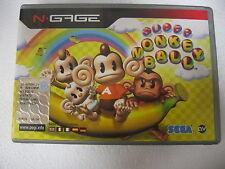 RETROGAMES NOKIA NGAGE NOKIA N-GAGE SUPERMONKEYBALL SUPER MONKEY BALL