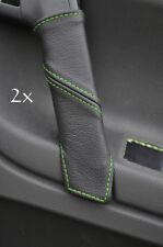 FITS VW POLO MK5 6N2 98-2001 2X DOOR HANDLE COVERS green
