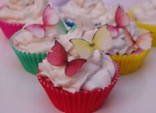 Edible Butterfly Cake Decoration Princess 30pc Alice Tea Party Queen Hearts Love