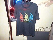 New listing 80s M/Xl Vtg San Francisco California Sailboats sailing soft thin t-shirt Boats