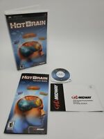 HOT BRAIN (Sony PSP, 2007) 100% Complete Tested!