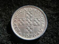 1976 Portugal 10 centavos Coin in Extremely Fine Grade  .
