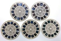 Lot Of 5 Miscellaneous Florida State Miami 1950s Sawyers Reels View Master S439