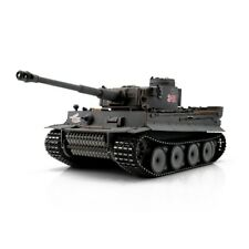 1:16 Torro German Tiger I Early V. RC Tank Airsoft 2.4GHz Hobby Edition Grey