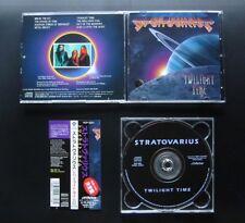 STRATOVARIUS Twilight Time 1993 JAPAN 1ST PRESS w/OBI OOP REVOLUTION RENAISSANCE