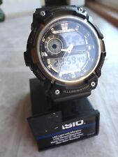 Casio Led Light With Afterglow 1/100 Second Stopwatch (NEW) Free Shipping