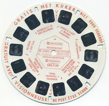 DRE-7-NF GAF Demonstration DR ViewMaster Reel Keuze Schijf Disque Selection