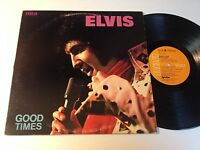 Elvis Presley: Good Times LP - Made In Canada