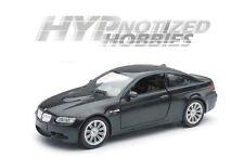 NEWRAY 1:24 BMW 2008 M3 COUPE DIE-CAST BLACK 71056